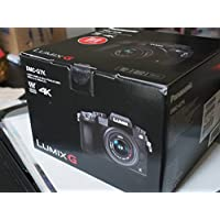Panasonic Lumix DMC-G7 Mirrorless Micro Four Thirds Digital Camera with 14-42mm Lens (Black) - International Version (No Warranty)