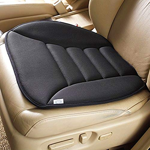 SmartDirect Coccyx Care Memory Foam Seat Cushion for Car Office Home Use (Black)