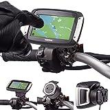 Moto BOULON U Métal 16-32mm Guidon Support Vélo utilisation avec TOMTOM RIDER V5 40 400 410 Sat Nav