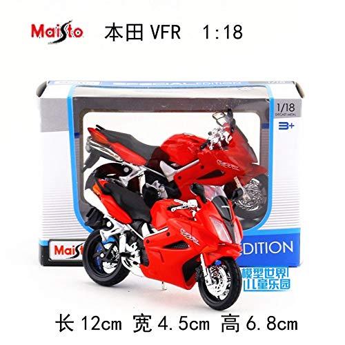Generic 1 18 Alloy Motorcycle Model,high Simulation Metal Honda VFR 515 CrossCountry Toys,