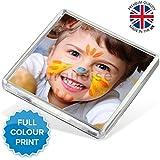 Personalised Custom Photo Gift Fridge Magnet 58 x 58 mm | Square Size | SKU: [ 36 ] SQMAG