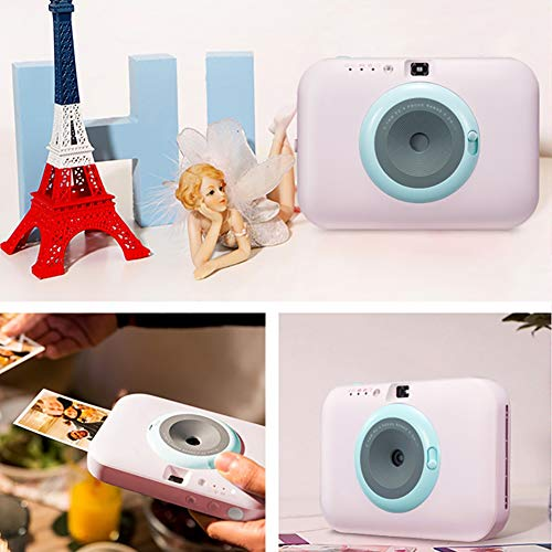SFXYJ Instant Photo Printer,Mini Portable Pocket Color Wireless+Camera Function,Pink by SFXYJ (Image #4)