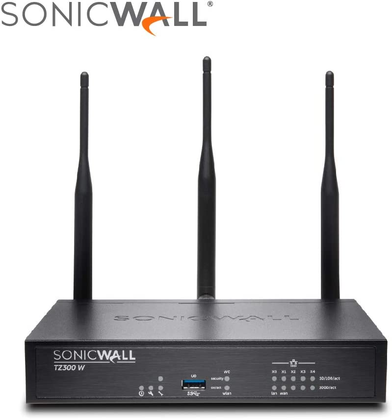 SonicWALL 01-SSC-1748 TZ300 Wireless-Ac - Advanced Edition - Security Appliance - 5 Ports - 10/100 MB LAN, Gige - 802.11 B/A/G/N/Ac