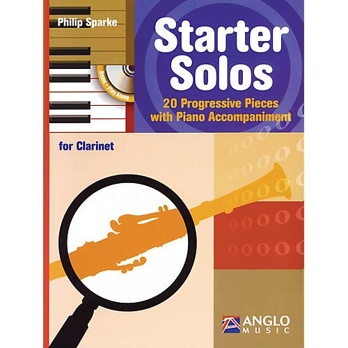 Starter Solos for Clarinet Anglo Music Press Play-Along Series BK/CD Pack of 2