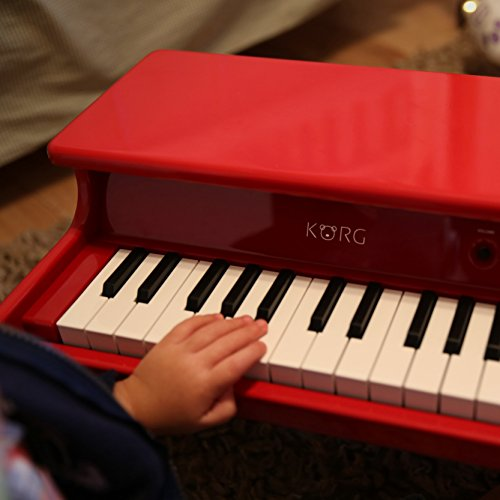 Korg tinyPiano Digital Toy Piano - Red by Korg (Image #12)