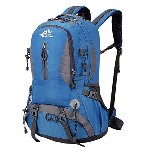 Bolsas Deportes 40L mochilas de senderismo al aire libre Bolsa recorrido senderismo impermeable de los hombres de las mujeres de los hombres que acampan Mochilas , 4 5