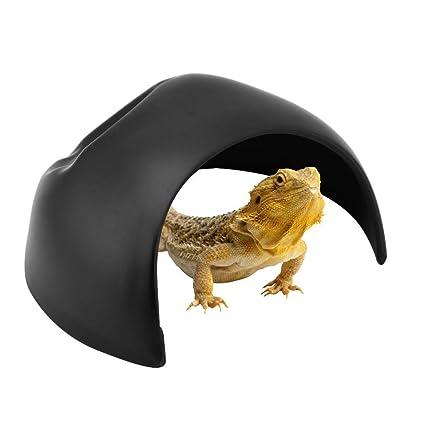 Amazon com : Pssopp Reptile Cave - Reptile Hideouts Box