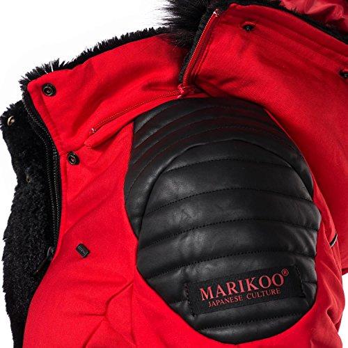 para Mujer Marikoo Chaqueta Rojo Chaqueta Marikoo Mujer para q57BXX