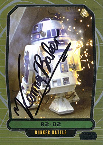 Kenny Baker Signed / Autographed R2 D2 Star Wars Card. Includes Fanexpo Fanexpo Certificate of Authenticity and Proof. Entertainment Autograph Original.