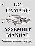 1973 Camaro & RS, LT, Z28 Factory Assembly Manual Reprint