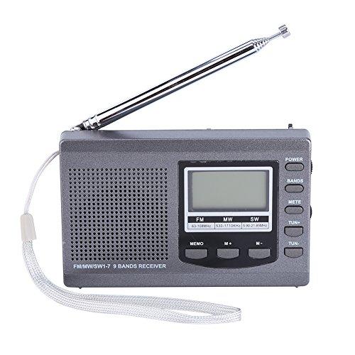 Fosa Portable Mini Radios FM/MW/SW Receiver with Digital Ala