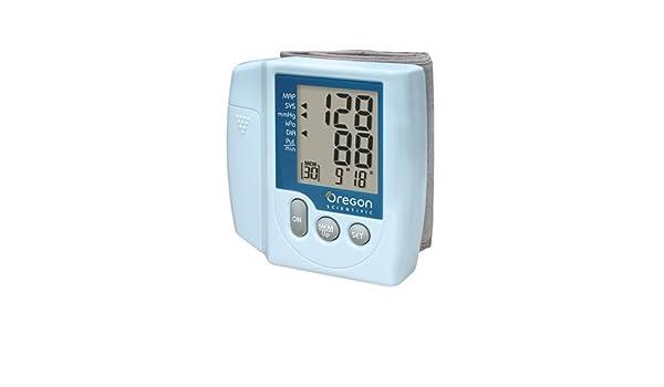 Oregon Scientific Tensiómetro automático BPW 120: Amazon.es: Salud y cuidado personal
