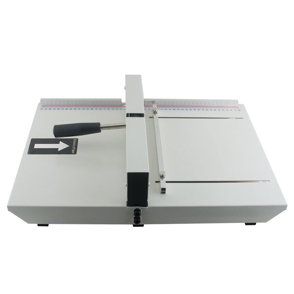 Enshey 13.7  350mm Manual Creasing Machine Scoring Paper Creasing Machine Scorer Perforator Paper Creaser Creasing Desktop A4 Paper Card Machine High Gloss Covers