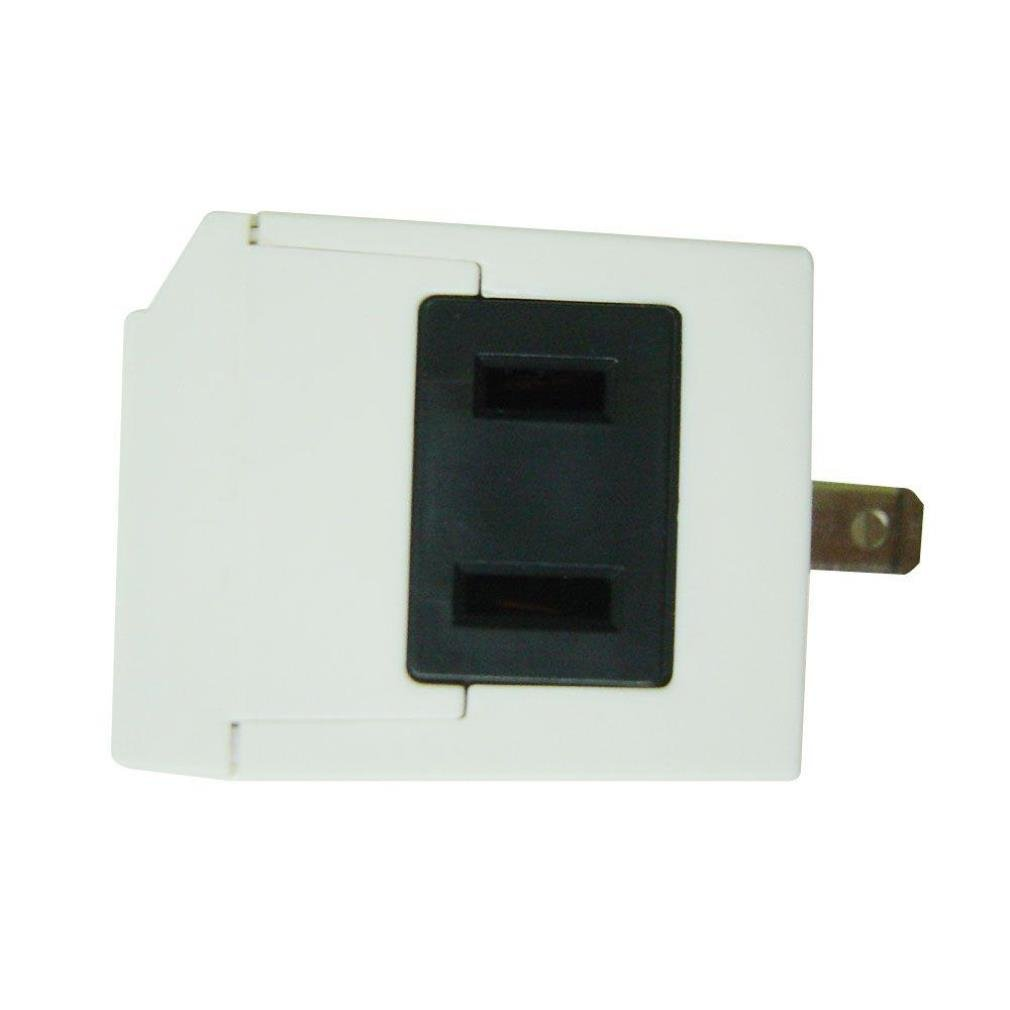 Dong Guan 2-Pack Ltd. Defiant Automatic 15 Amp Digital 24-Hour Slim Fit Indoor Plug-In Timer Tm-064 WHITE Verdant Electronics Co