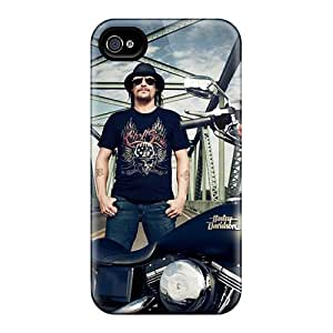 Bumper Hard Cell-phone Case For Iphone 4/4s With Provide Private Custom High Resolution Kid Rock Band Image CristinaKlengenberg