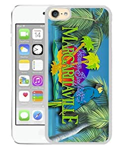 iPod Touch 6 Case ,margaritaville jimmy buffett (2) White iPod Touch 6 Cover Unqiue And Durable Custom Designed Phone Case