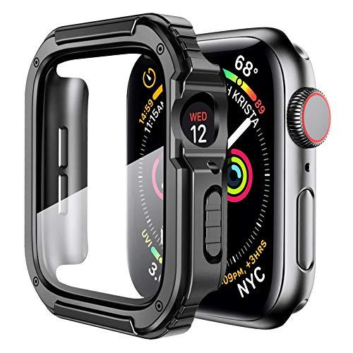 Funda Resistente para Apple Watch 44mm 6 5 4 se Black