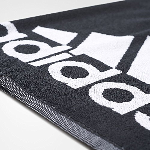 Amazon.com : adidas Performance Sports Training Gym Towel - Black White - 98cm X 50cm - Small : Sports & Outdoors