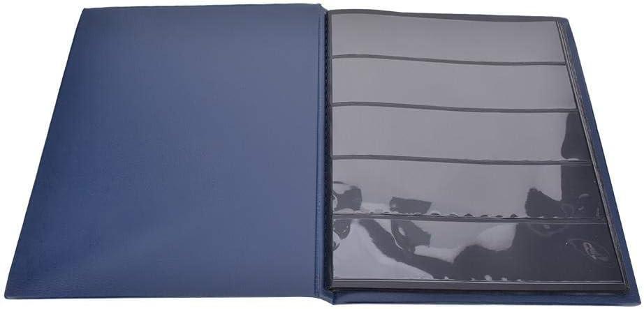 Ichiias Álbum de Sellos, Conveniente y Duradero Libro de colección de Sellos Azules, para Sellos para Alimentos(Blue): Amazon.es: Juguetes y juegos