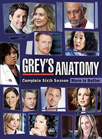 Grey's Anatomy: Season 6 (Greys Anatomy Dvd Seasons)