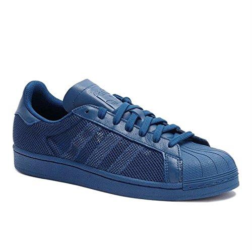 Herren Superstar Originals adidas Blau Turnschuhe Triple Schuhe w06xntnAT
