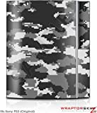 Sony PS3 Skin WraptorCamo Digital Gray