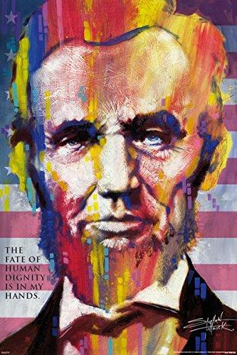 Fishwick Abraham Lincoln Poster Art Print