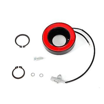 Aire acondicionado Compresor Embrague Solenoide Embrague para B MW E60 E61 E63 E64 E81 318d 320d 330xd: Amazon.es: Coche y moto