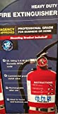 Fire Extinguisher heavy duty for home & business by First Alert