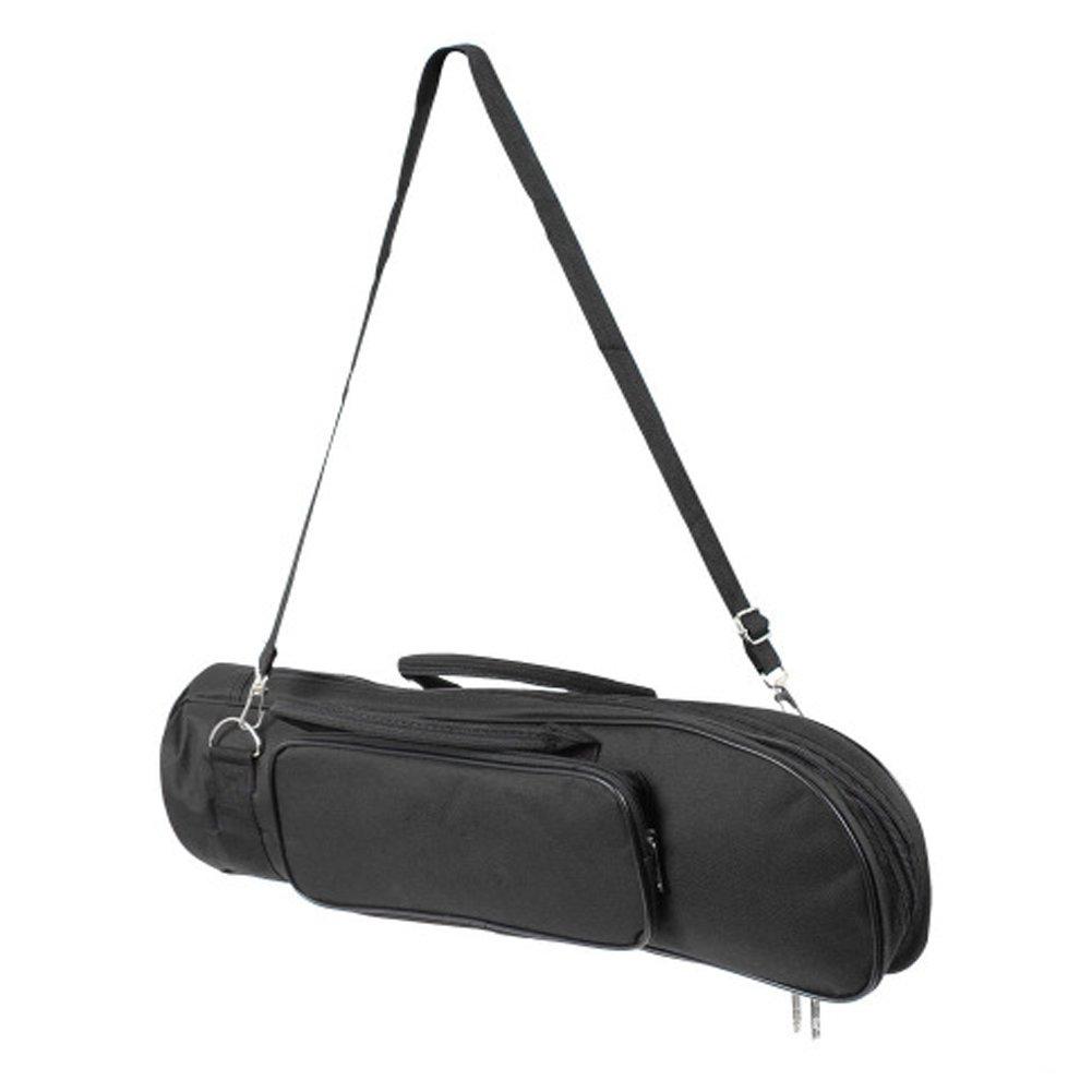 HNYG Trumpet Rectangular Case Canvas Gig Bag Box Perfect Gift A589 Black HUANGYUAN