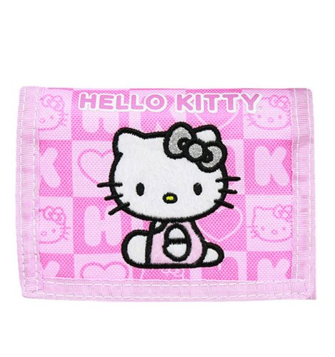 Trifold Wallet - Hello Kitty - Pink Box Checker