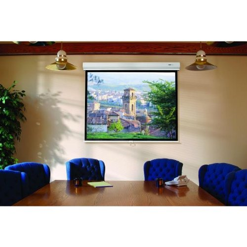 - Designer Contour Electrol Matte White Electric Projection Screen Viewing Area: 70