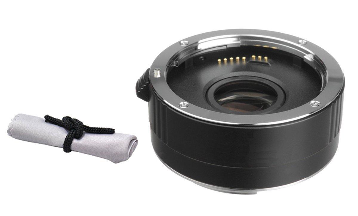 Nikon D3100 2x Teleconverter (4 Elements) + Nwv Direct Microfiber Cleaning Cloth. by Vivitar