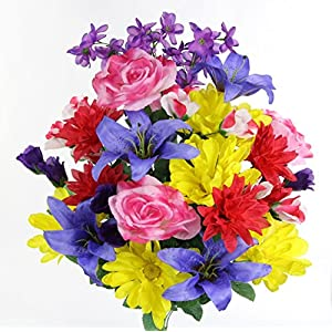 Admired by Nature Artificial Full Blooming Flowers 111