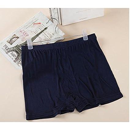 Alamor 3-pack Pantalones De Seda Para Hombres De Gama Alta Ropa Interior De Seda