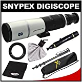 Snypex Knight PT 72mm ED APO Photography Digi-Scope with Hard Case with Monopod Kit for Canon EOS 6D, 70D, 5D Mark II III, Rebel T3, T3i, T4i, T5, T5i, SL1 DSLR Cameras