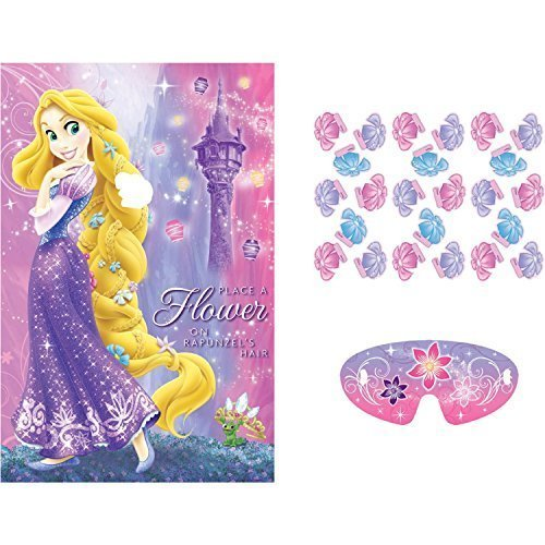 Tangled Sparkle Party Game Poster (1ct)