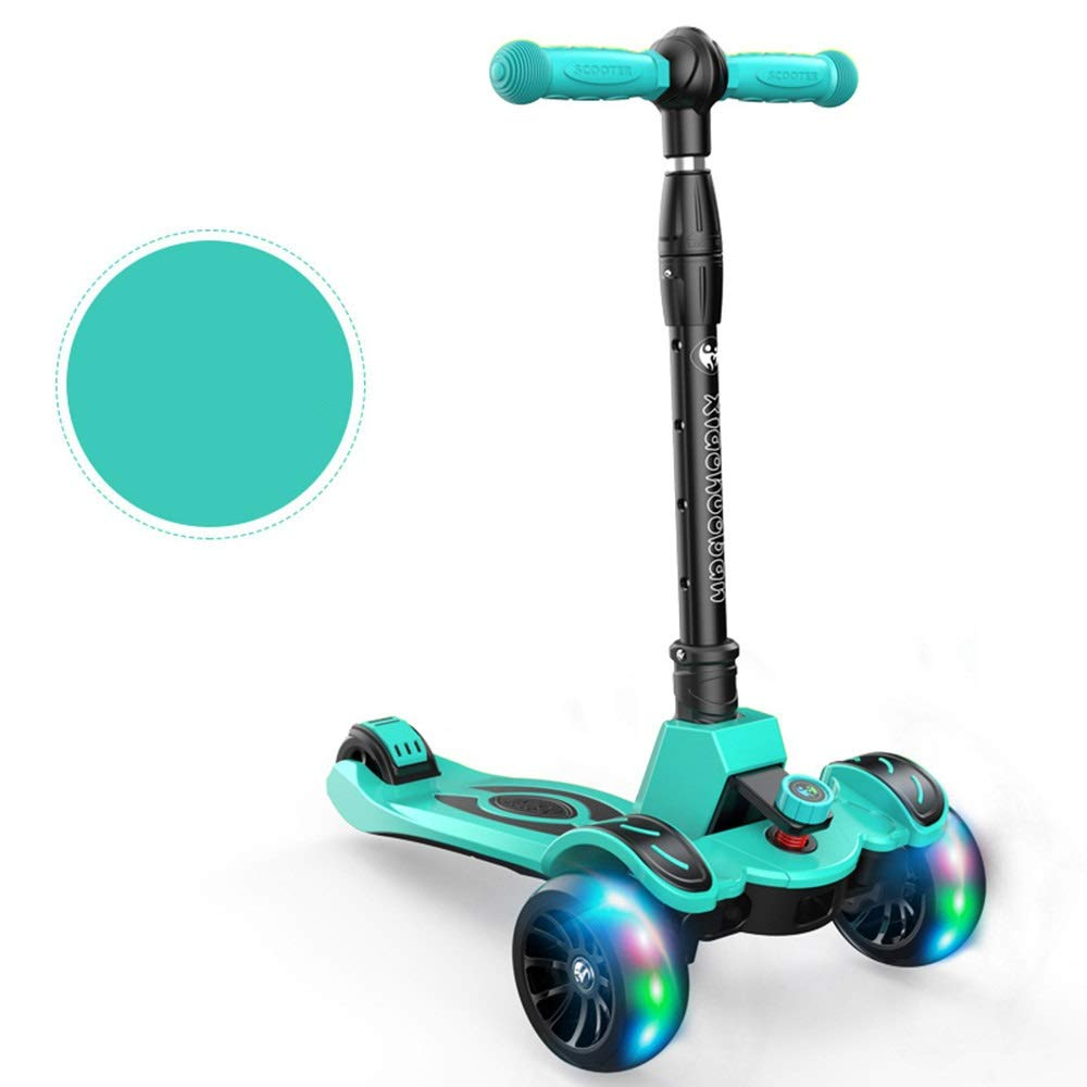 Runplayer 315歳の子供用スクーター、子供用ヨーヨーデザイン Sky、子供用屋外玩具、閃光ホイール、折りたたみ式 Runplayer、4速調整可能スクーターに適しています : ( Color : Sky blue ) B07R12ZJ2Z, CHARA TOY HOUSE:89ea9212 --- piairservices.eu