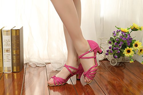 Minitoo Damen Standard & Latein Purple-4.8cm Heel