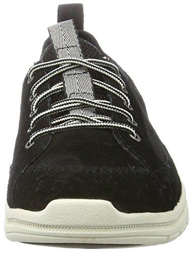 Rups Damen Swain Sneakers Schwarz (vrouwen Zwart / Wit)