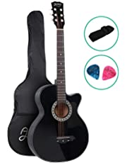 38 Inch Acoustic Guitar Wooden Classical Guitar ALPHA – Black