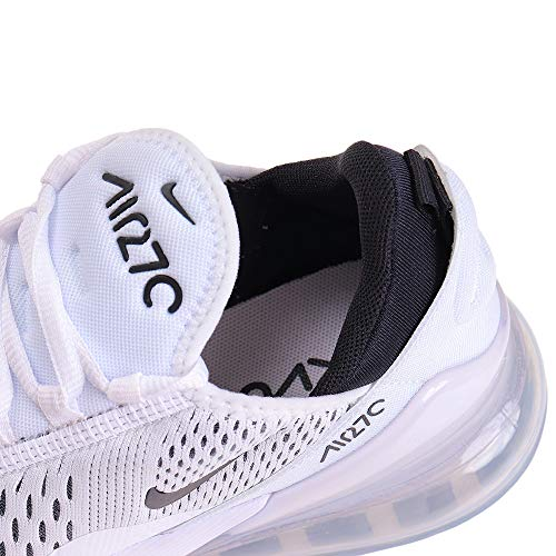 Nike womens Nike Women's Air Max 270 White/Black Ah6789-100 6