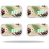 Skin For DJI Phantom 3 Drone Battery (4 pack) – Pine Collage | MightySkins Protective, Durable, and Unique Vinyl Decal wrap cover | Easy To Apply, Remove, and Change Styles | Made in the USA