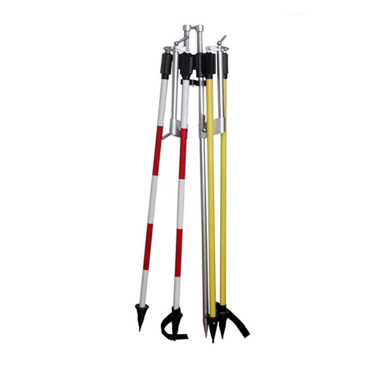 2.15 M Centering Rod With Bracket, Prism Tripod, Prism Rod (Size : 2.15M)