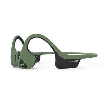 【正規輸入品】AfterShokz TREKZ AIR 骨伝導ワイヤレスヘッドホン フォレストグリーン 30g AFT-EP-000006