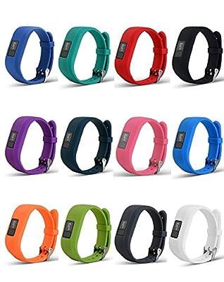 AUTRUN Band for Garmin Vivofit 3 and Garmin Vivofit JR, Silicon Bracelet Strap Replacement Bands for Garmin Vivofit 3 and Vivofit JR(No Tracker)