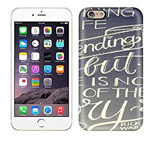 Snap-on Not Everything In This Life Has A Happy Ending Case Cover Skin Compatible With Iphone 6 by Maris's Diary