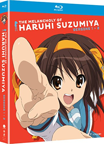 The Melancholy of Haruhi Suzumiya: Seasons One & Two [Blu-ray]