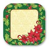 Poinsettia 9 Plate 8 Ct,Axiom International,72413
