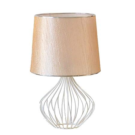 Yike-Lamp Jaula de pájaros de Hierro Forjado Decoración Creativa ...
